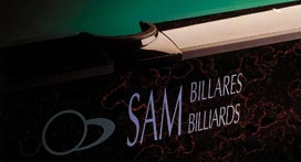 ���������� ����� � ������������ SAM BILLIARDS